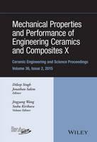 Wang, Jiyang, Kirihara, Soshu - Mechanical Properties and Performance of Engineering Ceramics and Composites X: Ceramic Engineering and Science Proceedings, Volume 36 Issue 2 - 9781119211280 - V9781119211280