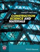 Virdi, Surinder Singh; Waters, Robert - Construction Science and Materials - 9781119245056 - V9781119245056