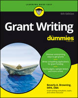 Browning, Beverly A. - Grant Writing For Dummies - 9781119280125 - V9781119280125