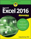 Harvey, Greg - Excel 2016 For Dummies (Excel for Dummies) - 9781119293439 - V9781119293439