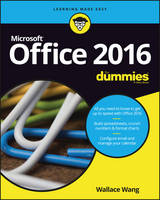 Wang, Wallace - Office 2016 For Dummies - 9781119293477 - V9781119293477