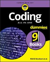 Abraham, Nikhil - Coding All-in-One For Dummies (For Dummies (Computers)) - 9781119363026 - V9781119363026