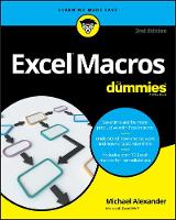 Alexander, Michael - Excel Macros For Dummies - 9781119369240 - V9781119369240