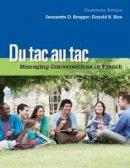 Bragger, Jeannette D.; Rice, Donald - Du Tac Au Tac - 9781133311270 - V9781133311270