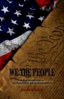 Dahlin, Donald C. - We the People: A Brief Introduction to the Constitution and Its Interpretation - 9781137274069 - V9781137274069