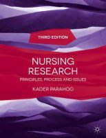 Parahoo, Kader - Nursing Research: Principles, Process and Issues - 9781137281265 - V9781137281265