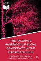 - The Palgrave Handbook of Social Democracy in the European Union - 9781137293794 - V9781137293794