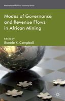 - Modes of Governance and Revenue Flows in African Mining - 9781137345967 - V9781137345967