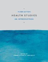 - Health Studies: An Introduction - 9781137348678 - V9781137348678