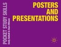Bethell, Emily, Milsom, Clare - Posters and Presentations (Pocket Study Skills) - 9781137357083 - V9781137357083