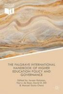 - The Palgrave International Handbook of Higher Education Policy and Governance - 9781137456168 - V9781137456168