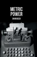 Beer, David - Metric Power - 9781137556486 - V9781137556486