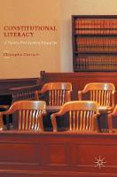 Dreisbach, Christopher - Constitutional Literacy: A Twenty-First Century Imperative - 9781137567987 - V9781137567987