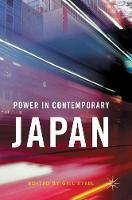- Power in Contemporary Japan - 9781137601667 - V9781137601667