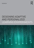 Kinshuk - Designing Adaptive and Personalized Learning Environments (Interdisciplinary Approaches to Educational Technology) - 9781138013063 - V9781138013063