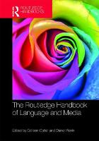- The Routledge Handbook of Language and Media - 9781138014176 - V9781138014176