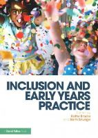 - Inclusion and Early Years Practice - 9781138017306 - V9781138017306