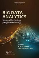 - Big Data Analytics: Tools and Technology for Effective Planning (Chapman & Hall/CRC Big Data Series) - 9781138032392 - V9781138032392