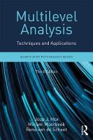 Hox, Joop J., Moerbeek, Mirjam, van de Schoot, Rens - Multilevel Analysis: Techniques and Applications, Third Edition (Quantitative Methodology Series) - 9781138121362 - V9781138121362