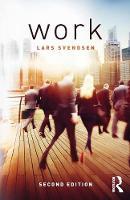 Svendsen, Lars Fredrik - Work - 9781138194083 - V9781138194083