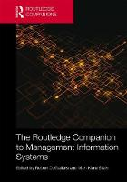 - The Routledge Companion to Management Information Systems (Routledge Companions in Business, Management and Accounting) - 9781138666450 - V9781138666450