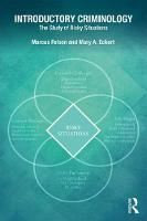 Felson, Marcus, Eckert, Mary A. - Introductory Criminology: The Study of Risky Situations - 9781138668249 - V9781138668249