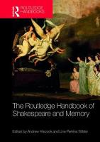 - The Routledge Handbook of Shakespeare and Memory (Routledge Literature Handbooks) - 9781138816763 - V9781138816763