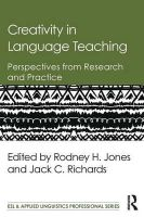 - Creativity in Language Teaching: Perspectives from Research and Practice (ESL & Applied Linguistics Professional Series) - 9781138843653 - V9781138843653