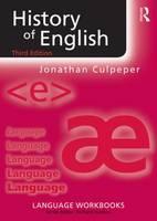 Culpeper, Jonathan - History of English (Language Workbooks) - 9781138891753 - V9781138891753