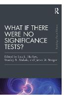 - What If There Were No Significance Tests?: Classic Edition (Psychology Press & Routledge Classic Editions) - 9781138892477 - V9781138892477