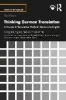 Hervey, Sandor; Loughridge, Michael - Thinking German Translation - 9781138920989 - V9781138920989