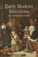 - Early Modern Emotions: An Introduction (Early Modern Themes) - 9781138925755 - V9781138925755