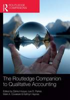 - The Routledge Companion to Qualitative Accounting Research Methods (Routledge Companions in Business, Management and Accounting) - 9781138939677 - V9781138939677