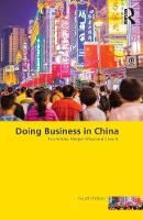 Ambler, Tim, Witzel, Morgen, Xi, Chao - Doing Business in China - 9781138944831 - V9781138944831