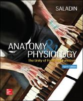 Saladin Dr., Kenneth S. - Anatomy & Physiology: The Unity of Form and Function - 9781259277726 - V9781259277726