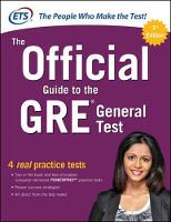 Educational Testing Service - The Official Guide to the GRE General Test, Third Edition - 9781259862410 - V9781259862410