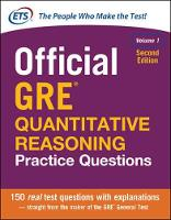 Educational Testing Service - Official GRE Quantitative Reasoning Practice Questions - 9781259863509 - V9781259863509