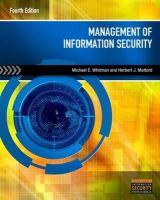 Whitman, Michael E., Mattord, Herbert J. - Management of Information Security - 9781285062297 - V9781285062297