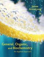 Armstrong, James - General, Organic, and Biochemistry - 9781285430232 - V9781285430232