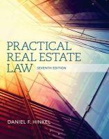 Hinkel, Daniel F. - Practical Real Estate Law - 9781285448633 - V9781285448633