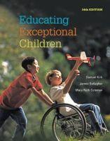 Kirk, Samuel A. - Educating Exceptional Children - 9781285451343 - V9781285451343