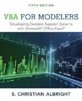 Albright, S. Christian - VBA for Modelers: Developing Decision Support Systems with Microsoft Office Excel - 9781285869612 - V9781285869612