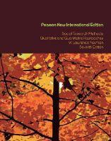 Neuman, W. Lawrence - Social Research Methods: Pearson New International Edition: Qualitative and Quantitative Approaches - 9781292020235 - V9781292020235