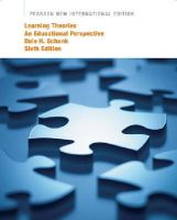 Schunk, Dale H. - Learning Theories: Pearson New International Edition: An Educational Perspective - 9781292020587 - V9781292020587