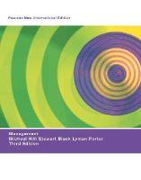 Hitt, Michael A, Black, Stewart, Porter, Lyman W - Management: Pearson New International Edition - 9781292020594 - V9781292020594