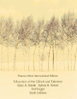 Davis, Gary A., Rimm, Sylvia B., Siegle, Del - Education of the Gifted and Talented: Pearson New International Edition - 9781292021928 - V9781292021928