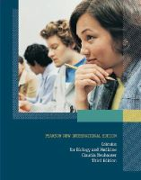 Neuhauser, Claudia - Calculus For Biology and Medicine: Pearson New International Edition - 9781292022260 - V9781292022260