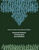 Sauer, Timothy - Numerical Analysis: Pearson New International Edition - 9781292023588 - V9781292023588
