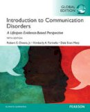 Owens Jr., Robert E., Metz, Dale Evan, Farinella, Kimberly A. - Introduction to Communication Disorders: A Lifespan Evidence-Based Approach, Global Edition - 9781292058894 - V9781292058894