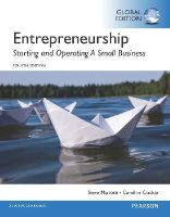 Mariotti, Steve, Glackin, Caroline - Entrepreneurship: Starting and Operating a Small Business, Global Edition - 9781292097411 - V9781292097411